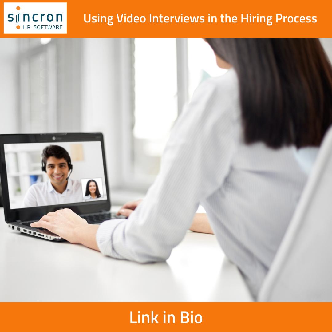 Sincron HR Blog - Video Interviews
